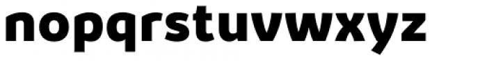 Kabrio ExtraBold Font LOWERCASE