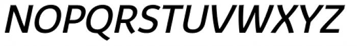 Kabrio Italic Font UPPERCASE
