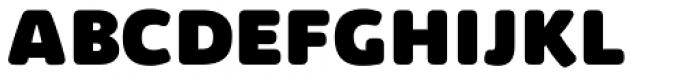 Kabrio Soft Heavy Font UPPERCASE