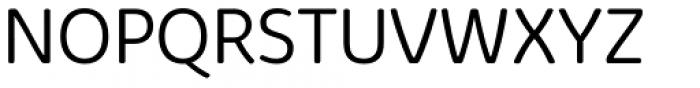 Kabrio Soft Light Font UPPERCASE