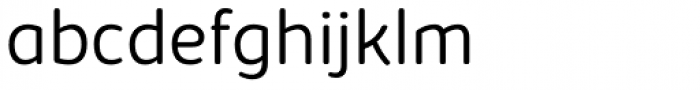 Kabrio Soft Light Font LOWERCASE