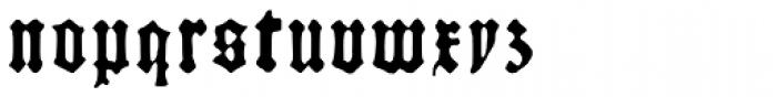 Kachelofen Light Font LOWERCASE