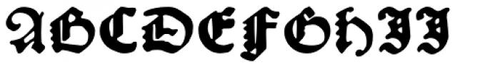 Kachelofen Font UPPERCASE