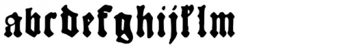 Kachelofen Font LOWERCASE