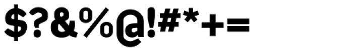 Kade Bold Font OTHER CHARS