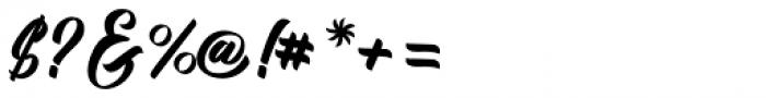 Kadisoka Script Font OTHER CHARS