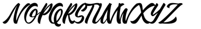 Kadisoka Script Font UPPERCASE
