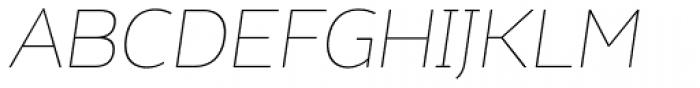 Kahlo Light Pro Italic Font UPPERCASE