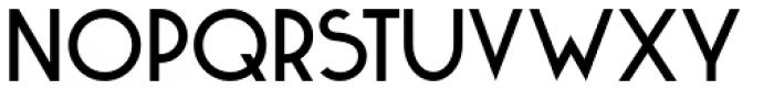 Kaikoura Font UPPERCASE