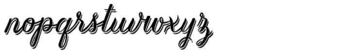 Kailey The Bold Font LOWERCASE