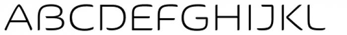 Kaili FY Light Font UPPERCASE
