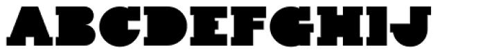 Kaine Block Font UPPERCASE