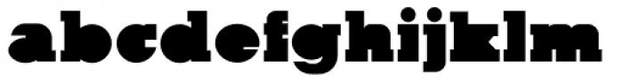 Kaine Block Font LOWERCASE