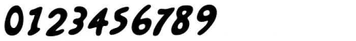 Kairengu Bold Oblique Font OTHER CHARS