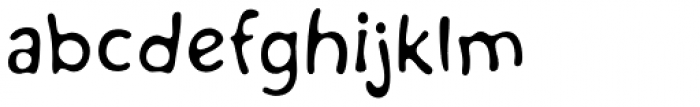 Kairengu Light Font LOWERCASE