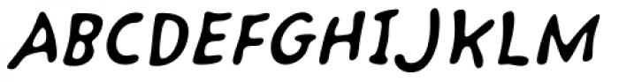 Kairengu Oblique Font UPPERCASE