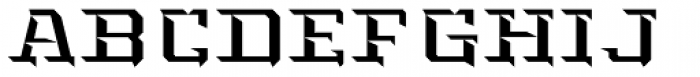 Kairos Display Std Highlight Font UPPERCASE