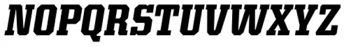 Kairos Pro Cond Bold Italic Font UPPERCASE