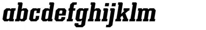 Kairos Pro Cond Bold Italic Font LOWERCASE