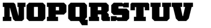 Kairos Pro Extd Black Font UPPERCASE