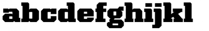 Kairos Pro Extd Black Font LOWERCASE