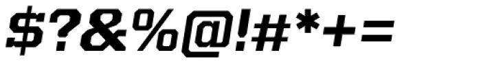 Kairos Pro Extd Bold Italic Font OTHER CHARS