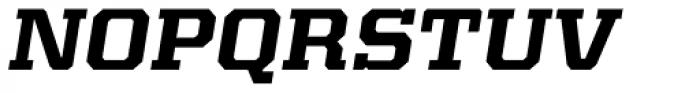Kairos Pro Extd Bold Italic Font UPPERCASE