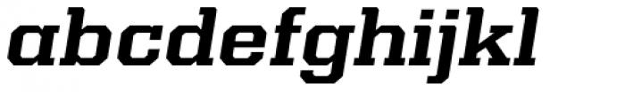 Kairos Pro Extd Bold Italic Font LOWERCASE