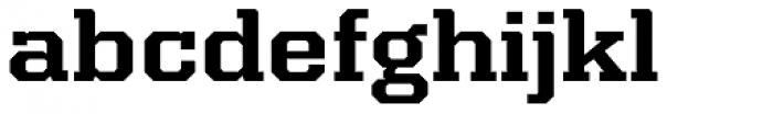 Kairos Pro Extd Bold Font LOWERCASE