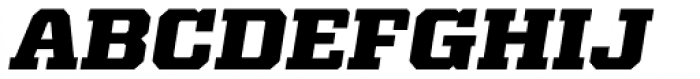 Kairos Pro Extd ExtraBold Italic Font UPPERCASE