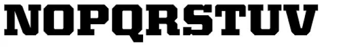 Kairos Pro Extd ExtraBold Font UPPERCASE