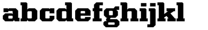 Kairos Pro Extd ExtraBold Font LOWERCASE