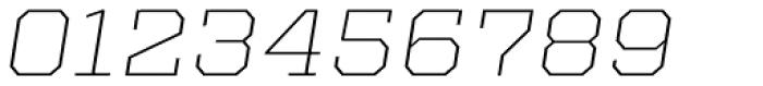 Kairos Pro Extd ExtraLight Italic Font OTHER CHARS