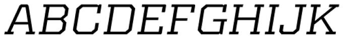 Kairos Pro Extd Italic Font UPPERCASE