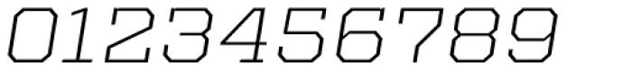 Kairos Pro Extd Light Italic Font OTHER CHARS