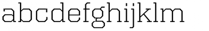 Kairos Pro Extd Light Font LOWERCASE