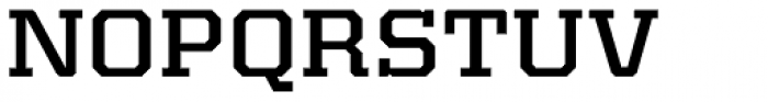 Kairos Pro Extd Medium Font UPPERCASE