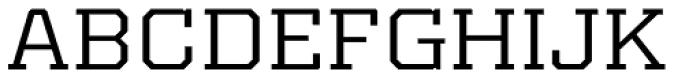 Kairos Pro Extd Font UPPERCASE