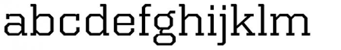 Kairos Pro Extd Font LOWERCASE