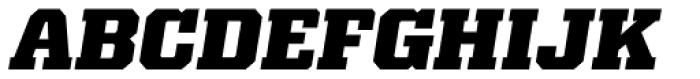Kairos Pro ExtraBold Italic Font UPPERCASE