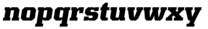 Kairos Pro ExtraBold Italic Font LOWERCASE