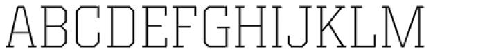 Kairos Pro ExtraLight Font UPPERCASE