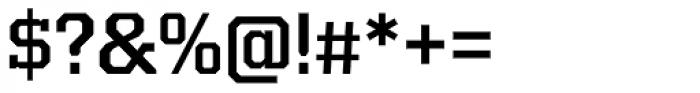 Kairos Pro Medium Font OTHER CHARS
