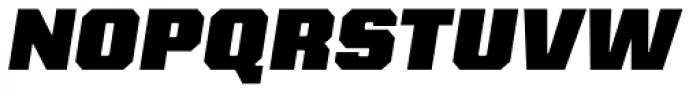Kairos Sans Black Italic Font UPPERCASE