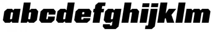 Kairos Sans Black Italic Font LOWERCASE