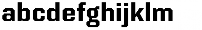 Kairos Sans Bold Font LOWERCASE