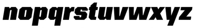Kairos Sans Cond Black Italic Font LOWERCASE