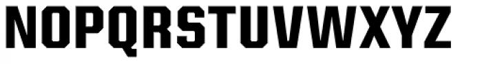 Kairos Sans Cond Bold Font UPPERCASE