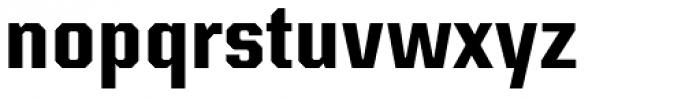Kairos Sans Cond Bold Font LOWERCASE