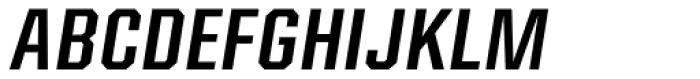 Kairos Sans Cond Medium Italic Font UPPERCASE